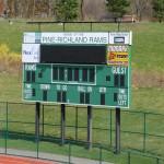 Pine Stadium Scoreboard